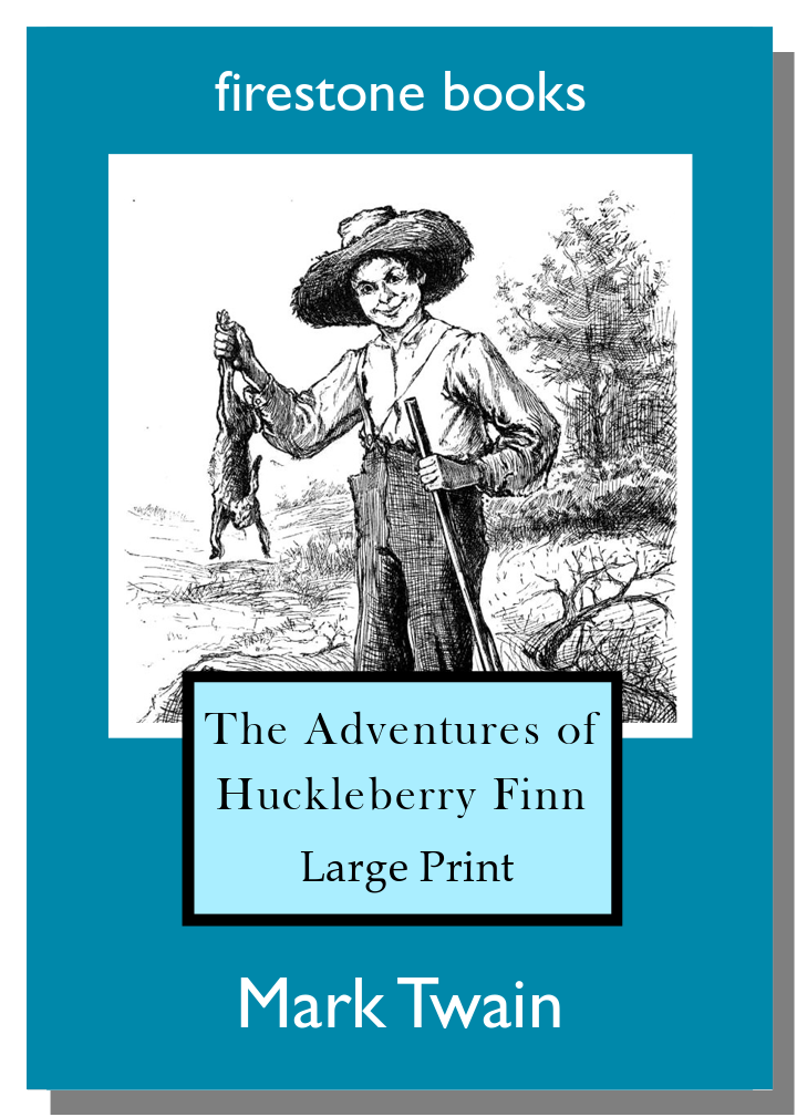 Huckleberry Finn LP Cover Shadow