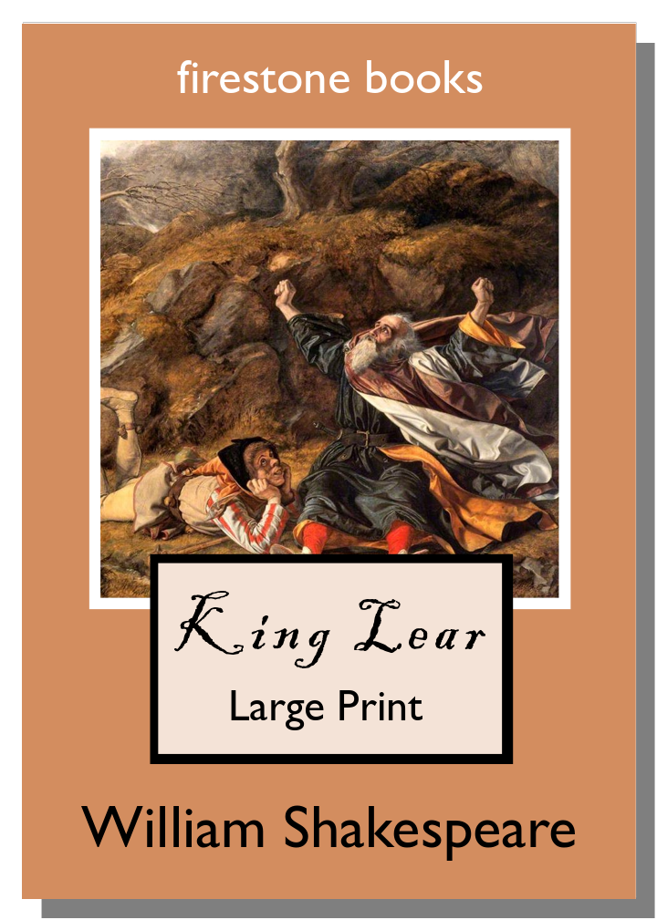 King Lear LP Cover Shadow